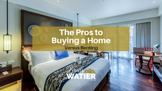 The Pros to Buying a Home Versus Renting